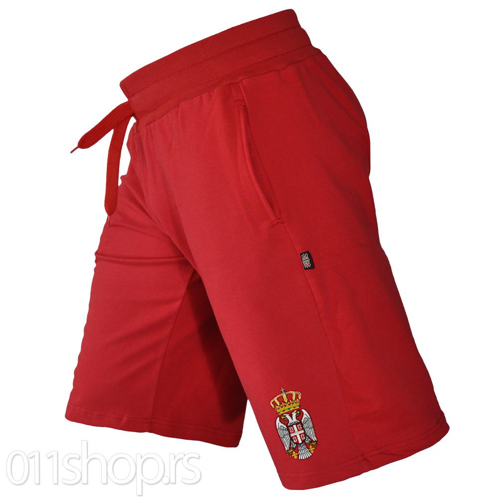 Bermude Srbija (vezen grb) - crvene