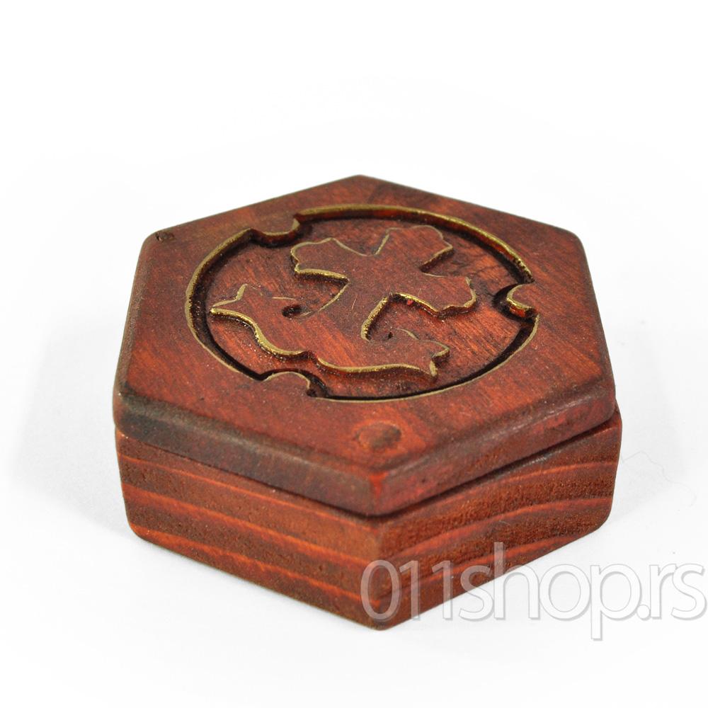 Kutija za tamjan (osmougaona) 2