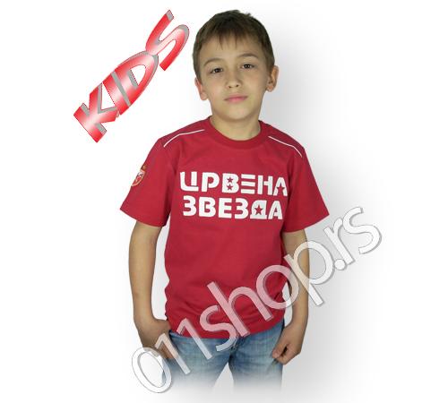 Dečija majica Crvena Zvezda (retro)