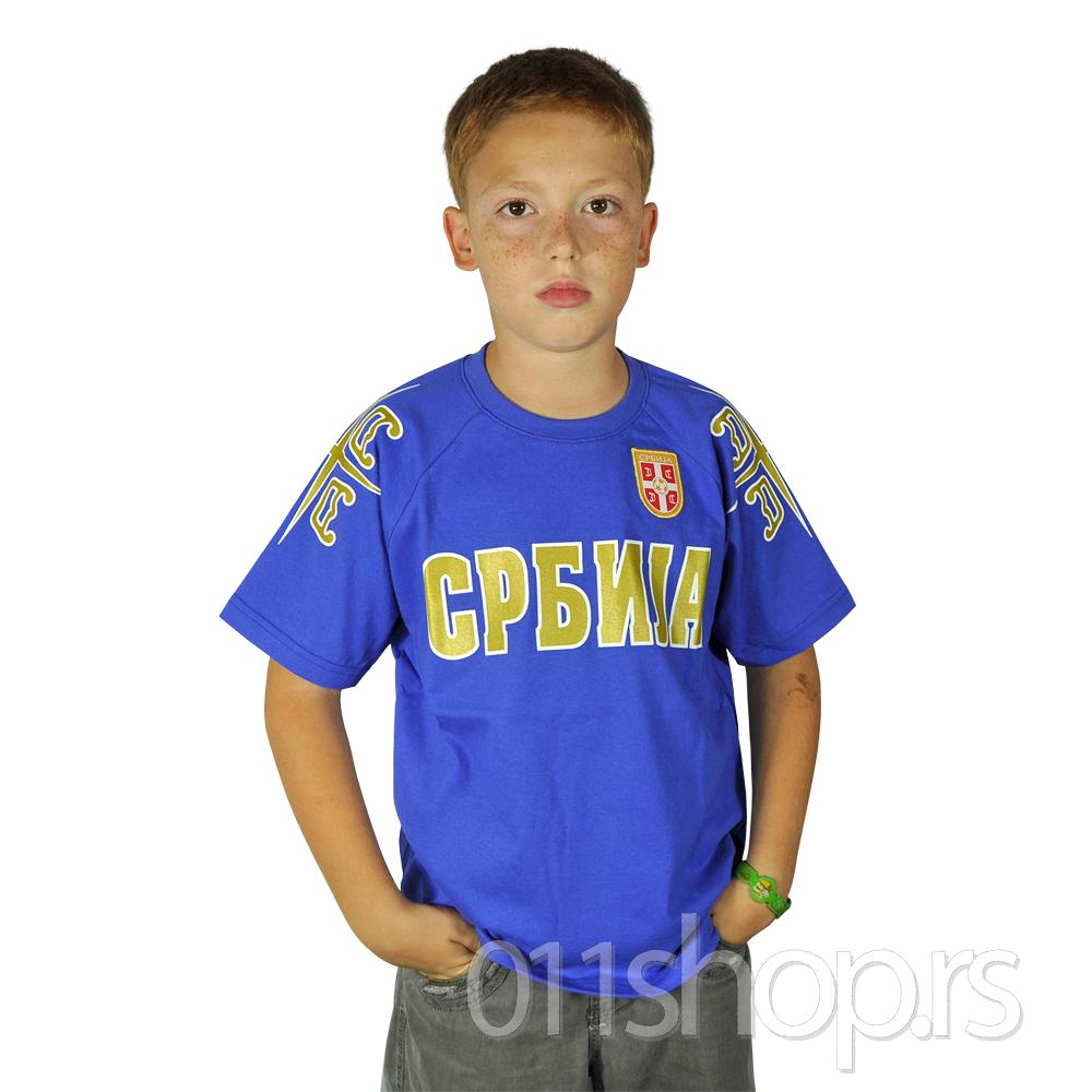 Dečija majica FSS 4S - plava