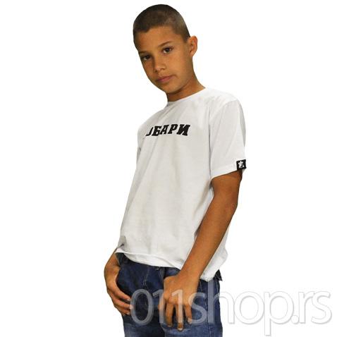 Dečija majica  Grobari (bela)