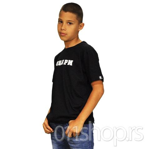 Dečija majica  Grobari (crna)