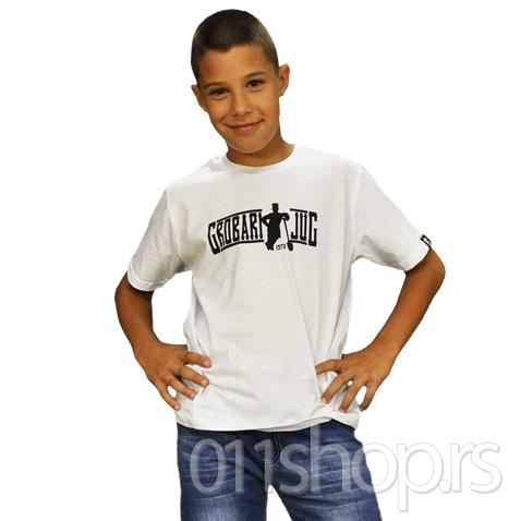 Dečija majica  Grobari jug (bela)