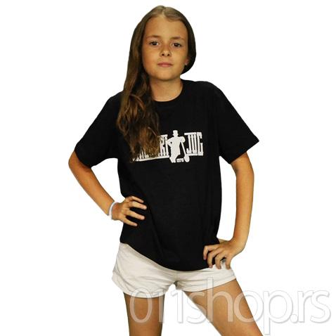 Dečija majica  Grobari jug (crna)
