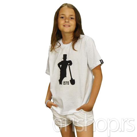 Dečija majica Lopatar (bela)