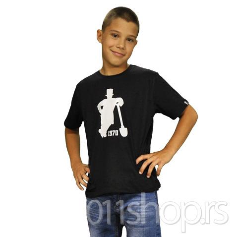 Dečija majica Lopatar (crna)