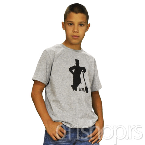 Dečija majica Lopatar (siva)