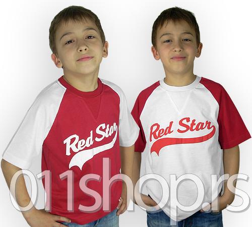 Dečija majica Red Star (College style)