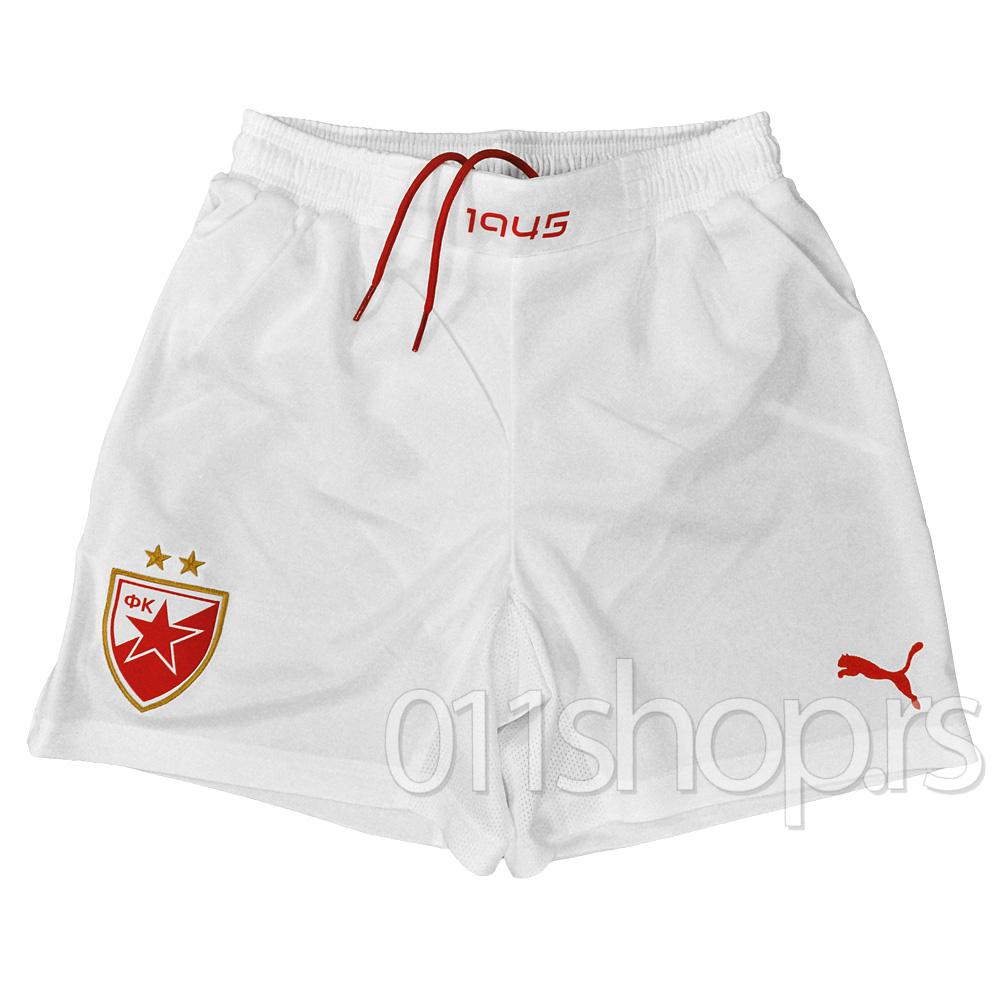 Dečiji šorc FK Crvena zvezda 13/14 (beli)