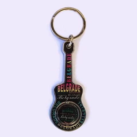 Privezak rotirajući-Belgrade gitara