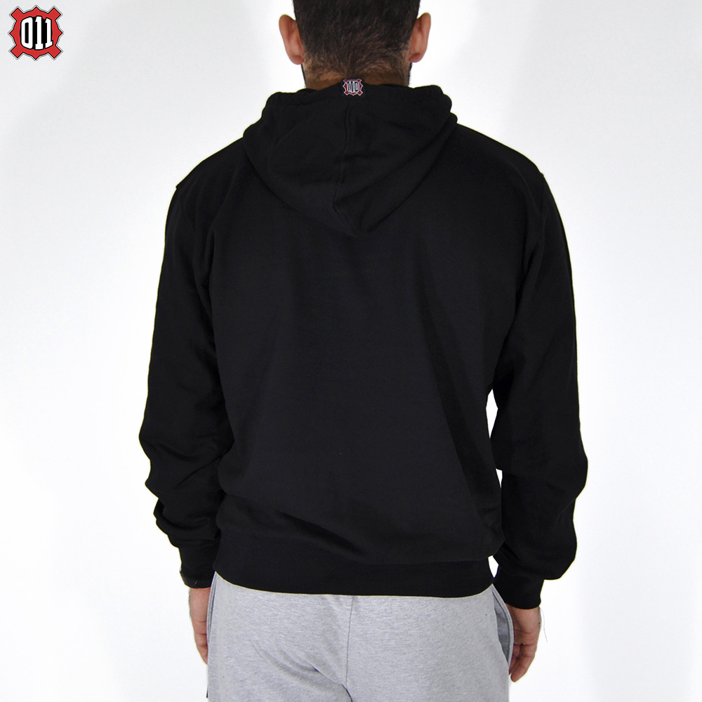 Sweater 011 - with hood (Black)