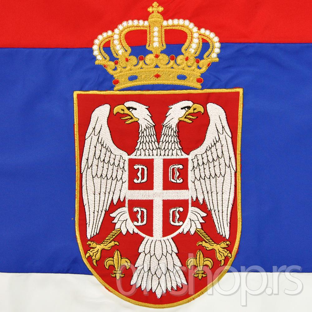 Državna zastava vezena (200cmX100cm)