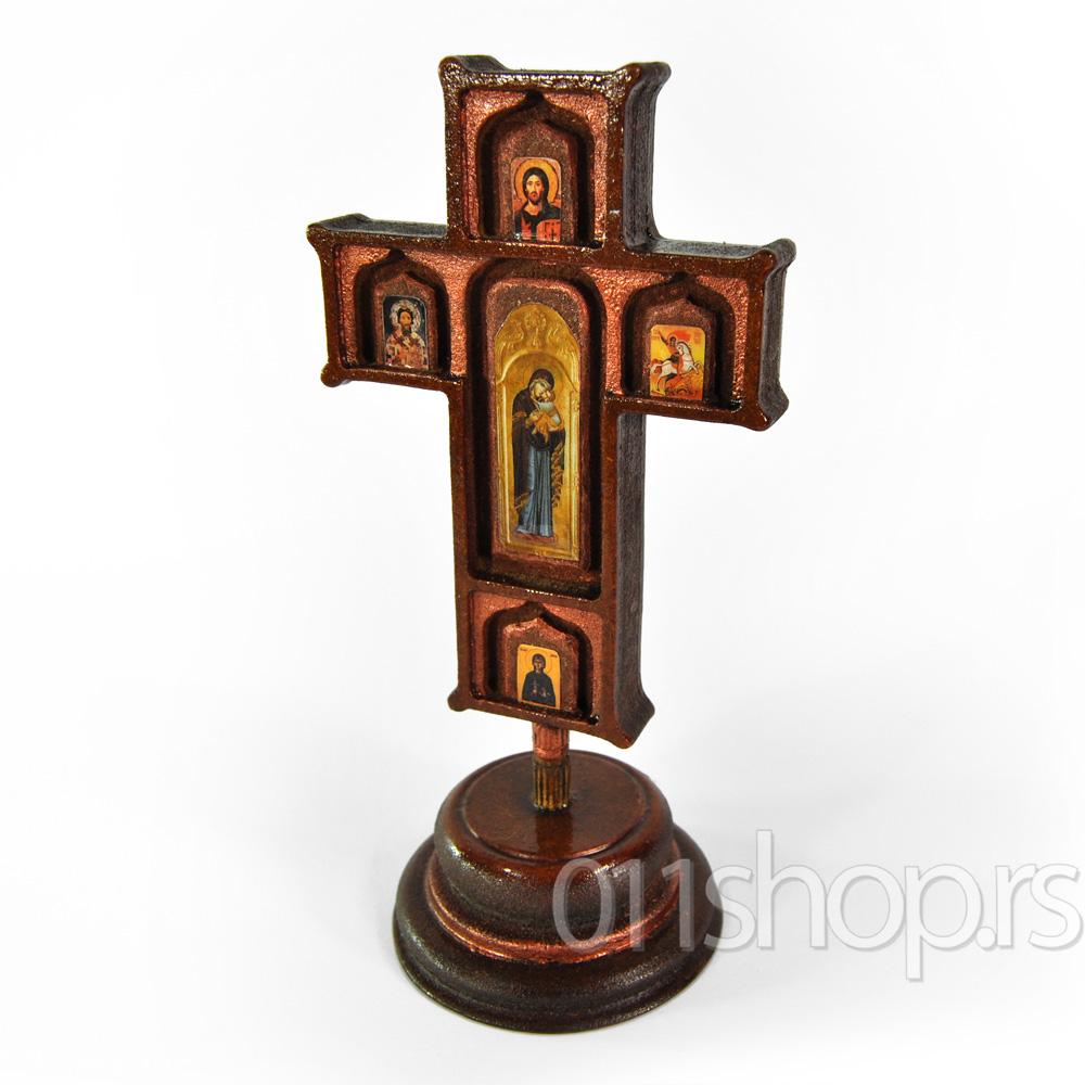 Krst sa ikonama (stoni)