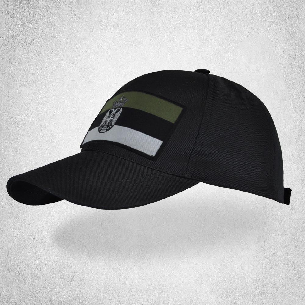 Качкет црни (државна заставица зелена)