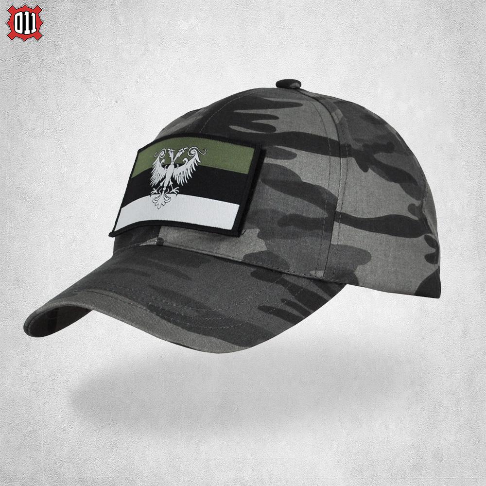 Качкет грб Немањића урбан (зелени амблем)