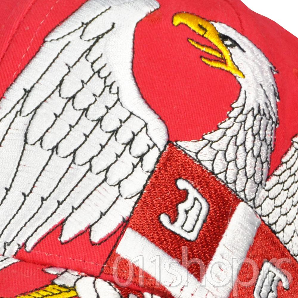 Kačket Srbija - Grb (crveni)