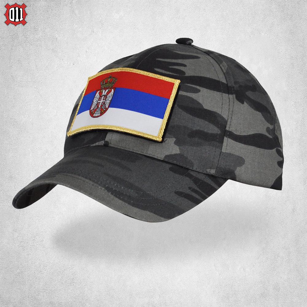 Kačket urban kombat (državna zastavica trobojka)