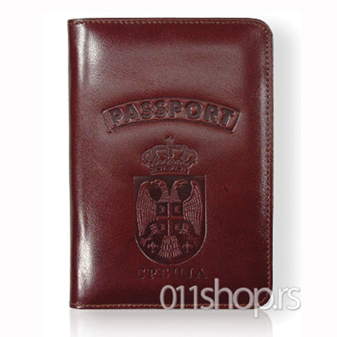 Kožni uložak za pasoš