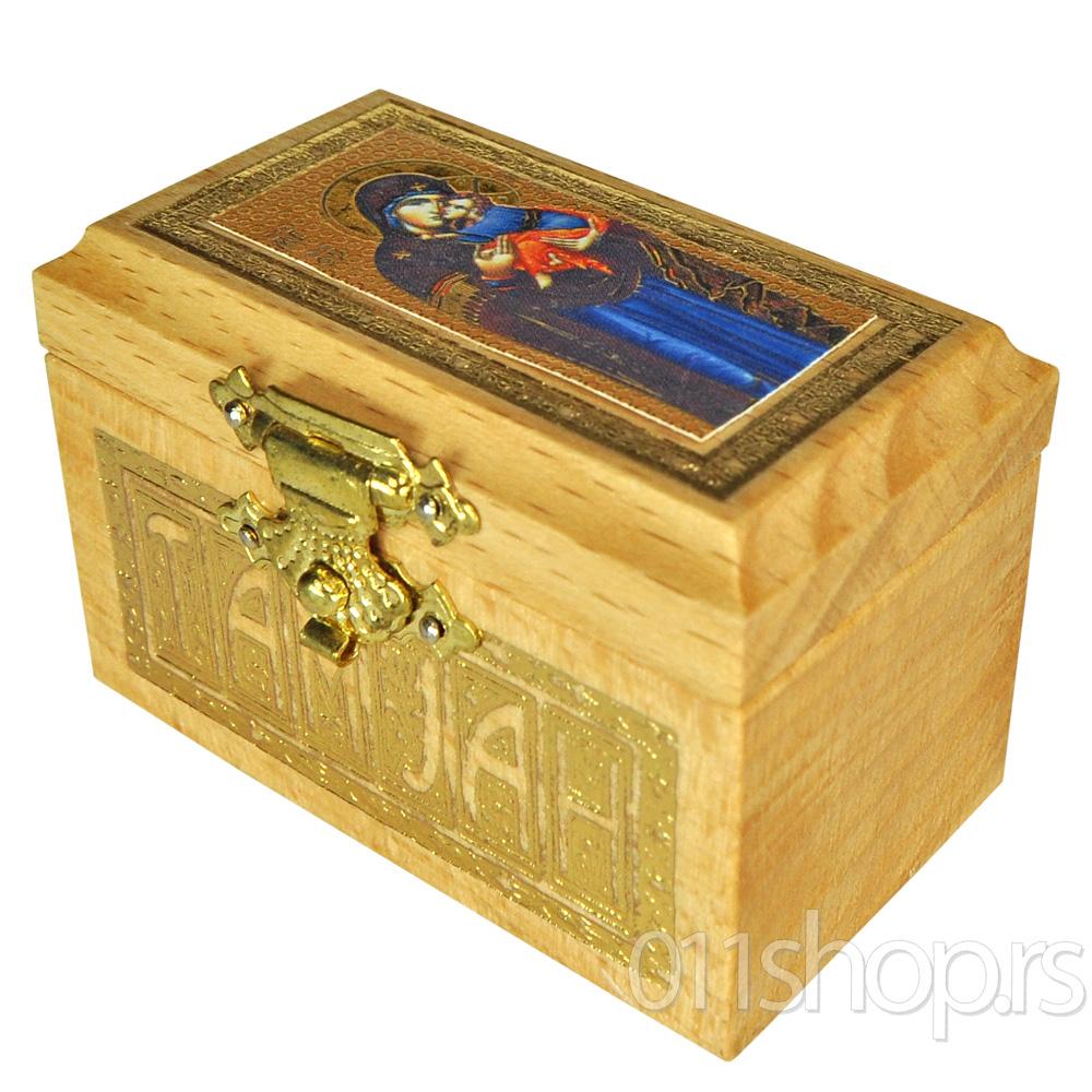 Kutija za tamjan (sa ikonicom)