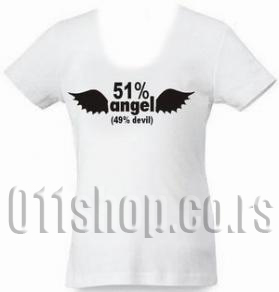 Majica 51% Angels