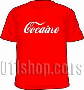 Majica Cocaine