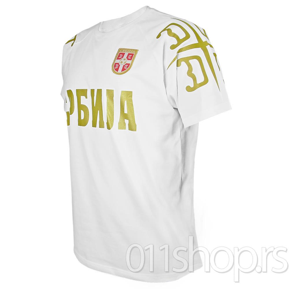 Majica FSS (4S) - bela