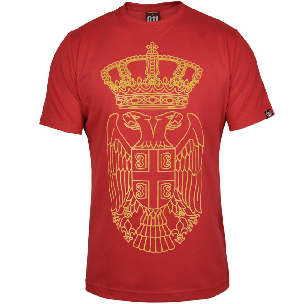 Majica grb Srbije (crvena)
