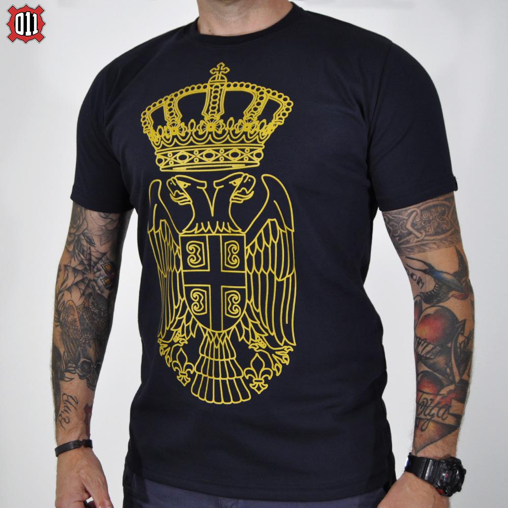 Majica grb Srbije (teget)