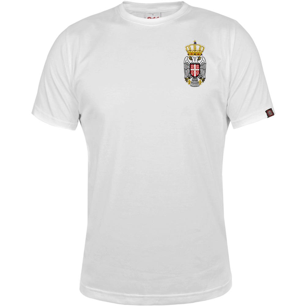 Majica Grb - Vez (bela)
