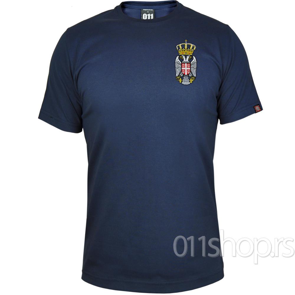 Majica Grb - Vez (teget)