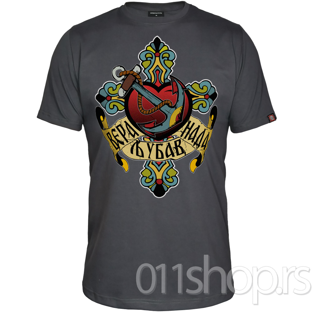Majica Ljubav, vera, nada - Tattoo
