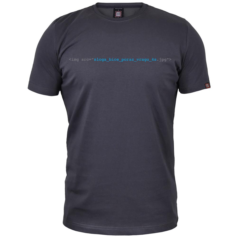 Majica Sloga biće poraz vragu //http