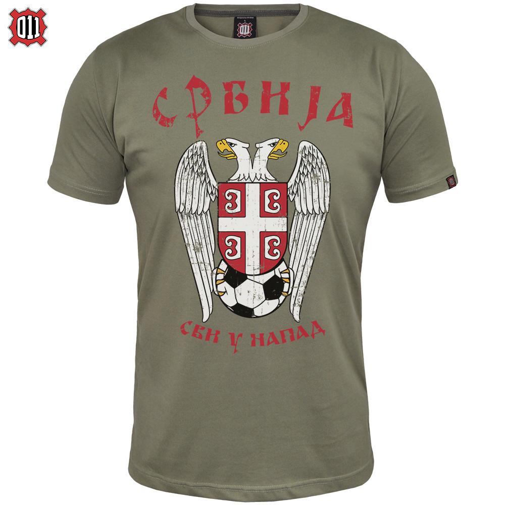 Majica Srbija - svi u napad!