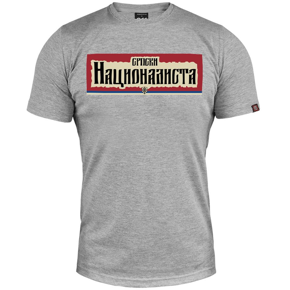 T-shirt Serbian nationalist