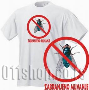 Majica Zabranjeno muvanje