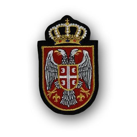 Našivak Grb Srbije sa krunom