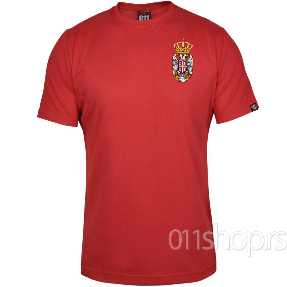Majica Grb - Vez (crvena)