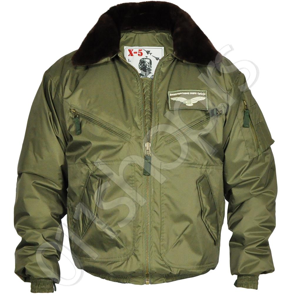 Pilotska jakna X-5a  - Zelena