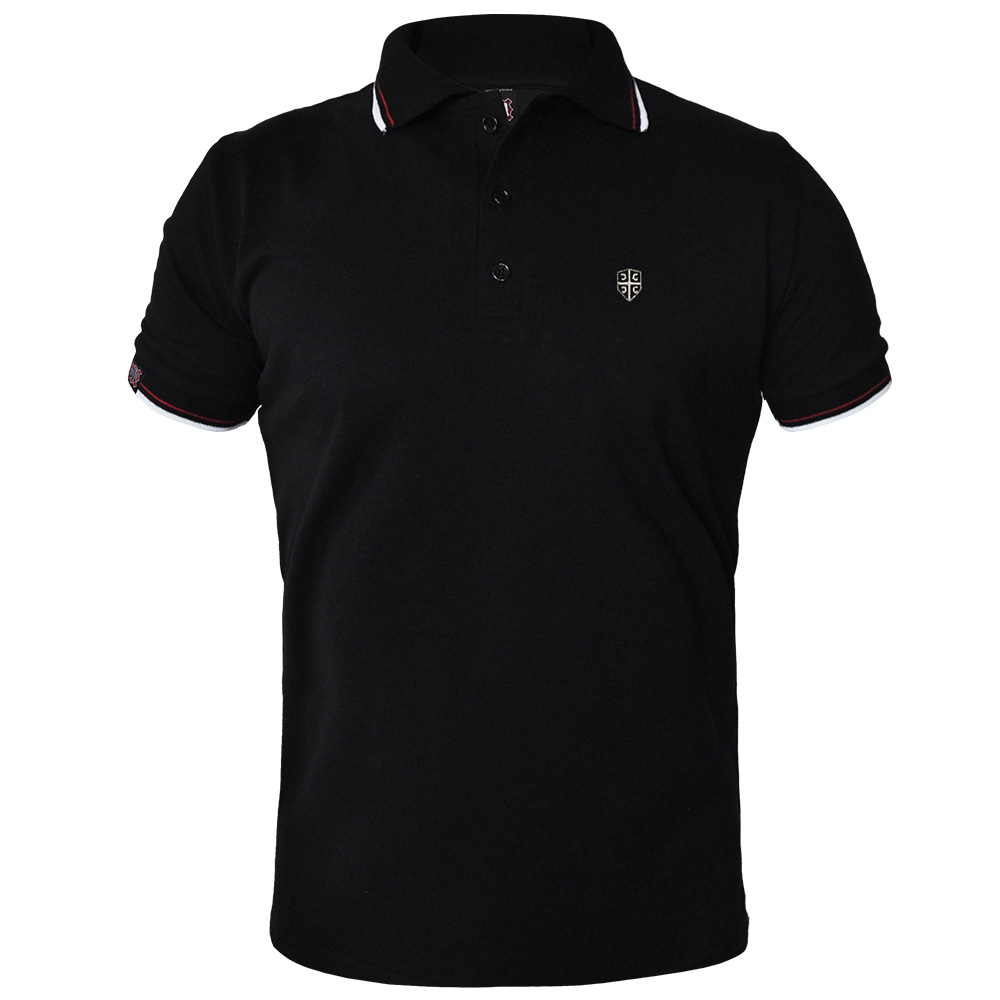 Polo t-shirt 4S casual-black (sale!)