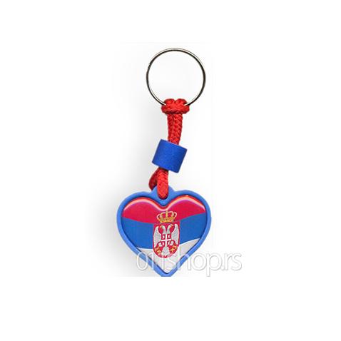 Privezak Srpsko srce