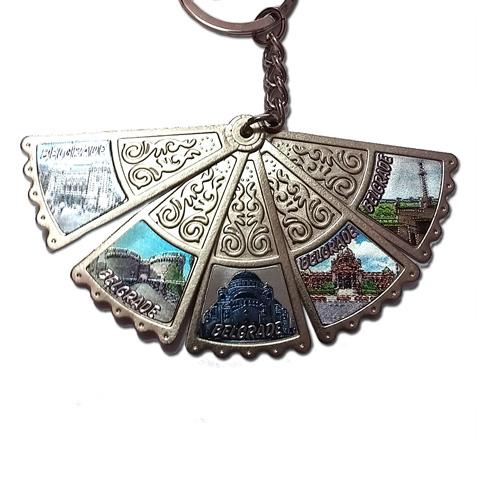 Privezak za ključeve lepeza