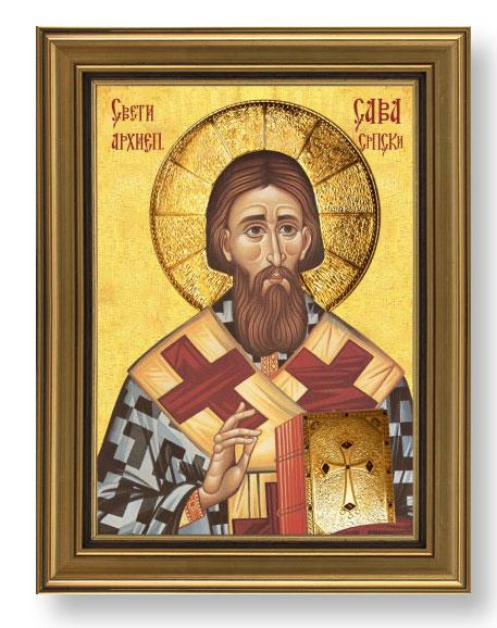 Slavska ikona sa pozlatom (sv. po izboru) 1