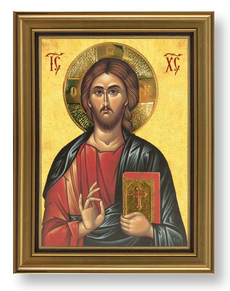 Slavska ikona sa pozlatom (sv. po izboru) 3