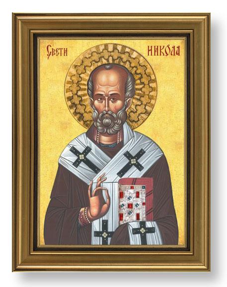 Slavska ikona- sv. Nikola