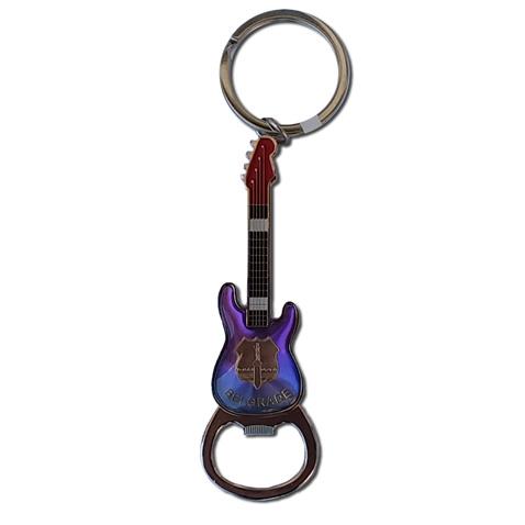Keychain bottle opener-Belgrade guitar