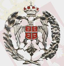 Srpska kokarda-bela