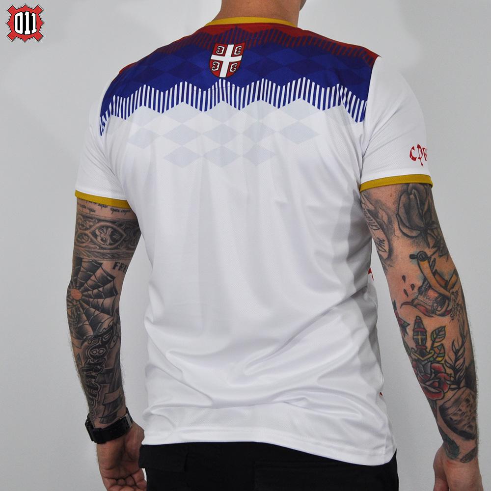 Serbian Fan Jersey WC 2018