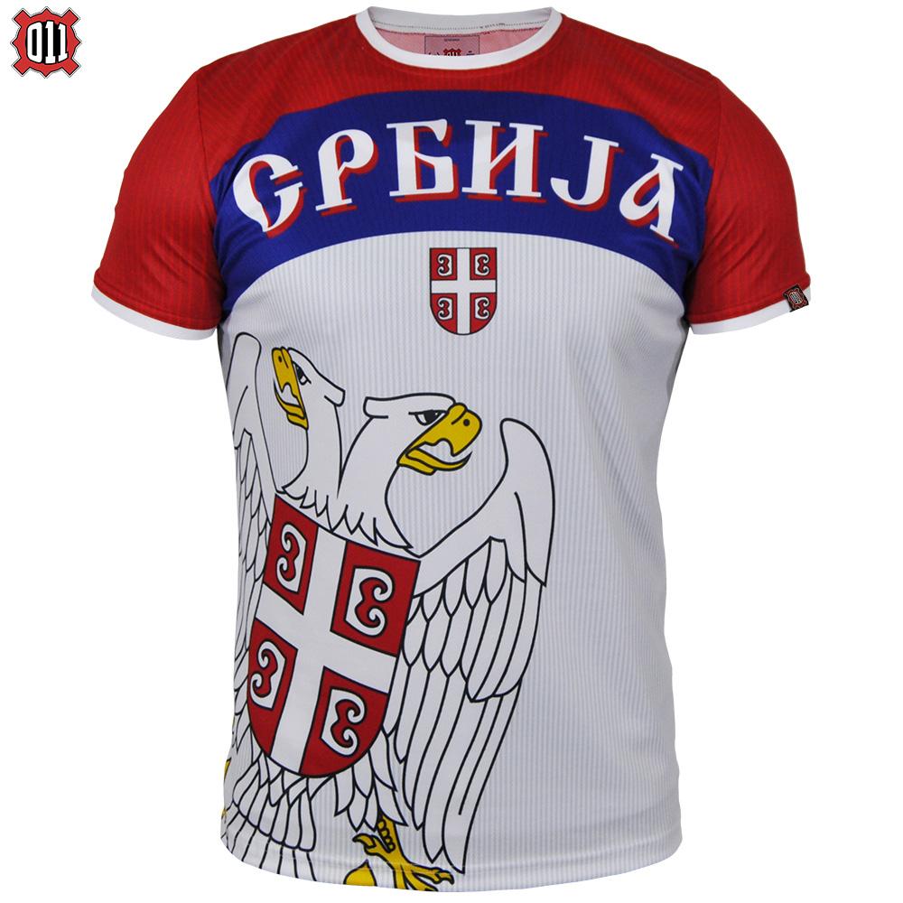 Srpski navijački dres Srbija