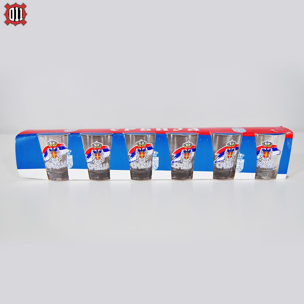 Komplet 6 čašica