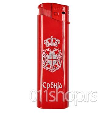 Upaljač Srbija 1 - crveni